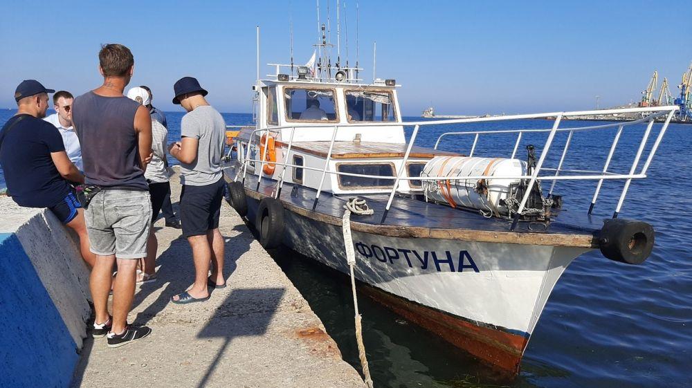 В Феодосии нарушили закон при перевозке пассажиров на судне