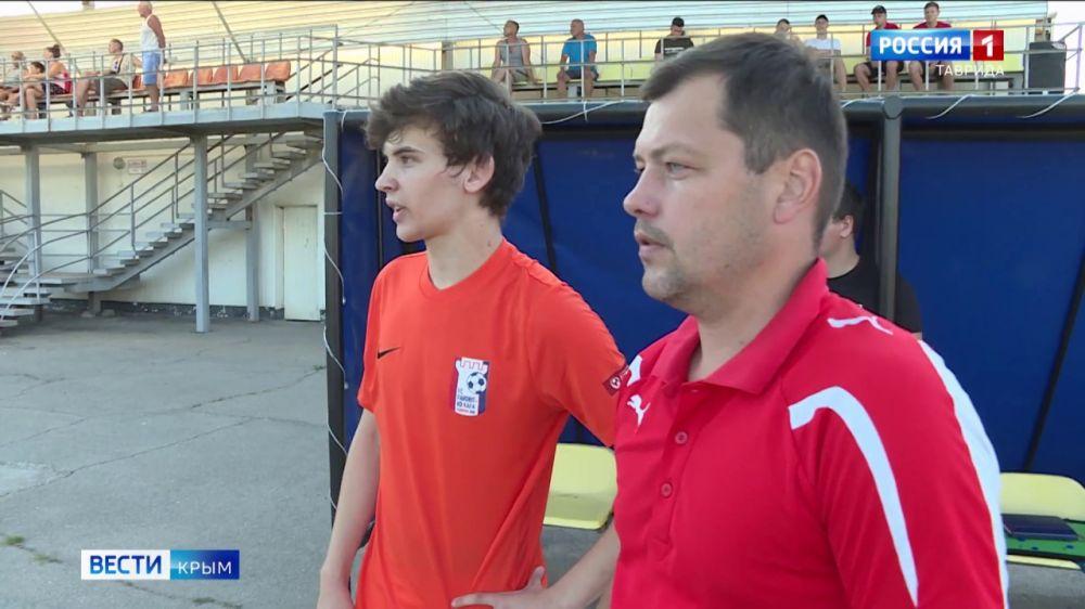 В Крыму прошли первые футбольные матчи после самоизоляции