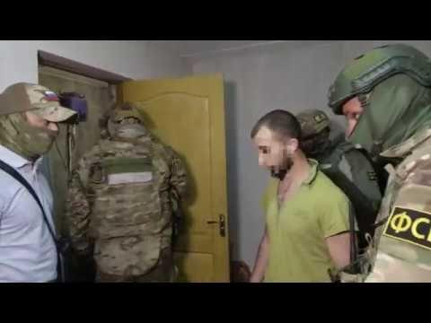 Видео: ФСБ задержала в Крыму участников террористической организации