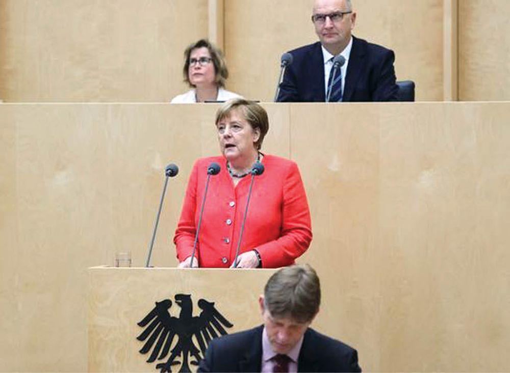 Ангела Меркель берёт ответственность за Евросоюз