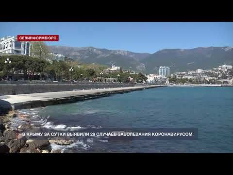 В Крыму за сутки выявили 28 случаев заболевания коронавирусом