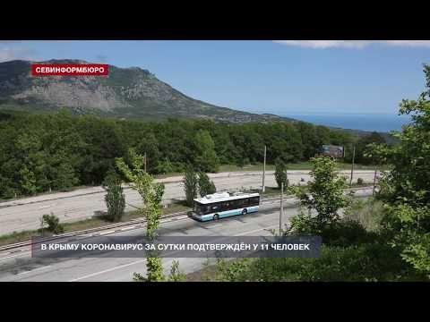 В Крыму коронавирус за сутки подтверждён у 11 человек