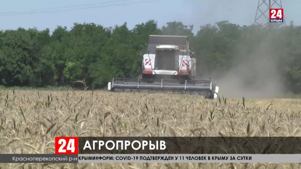 Крымские аграрии покупают технику на выгодных условиях