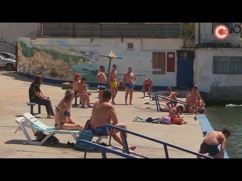Пляж «Городской» в Балаклаве: чистота и бетон без душевой и уборной (СЮЖЕТ)