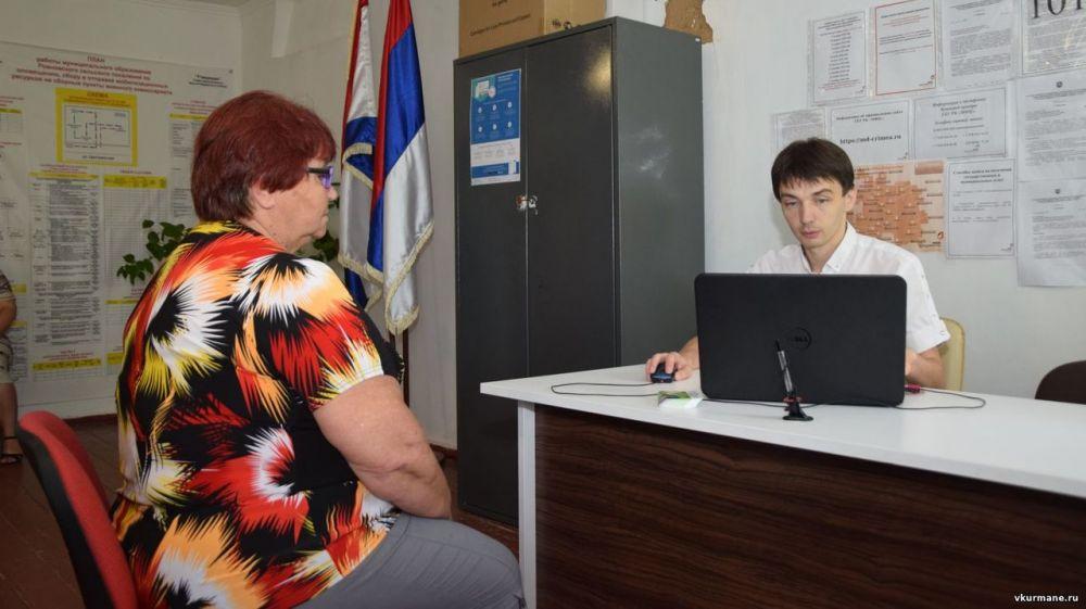 Глава Красногвардейского района провел прием граждан в с.Ровное