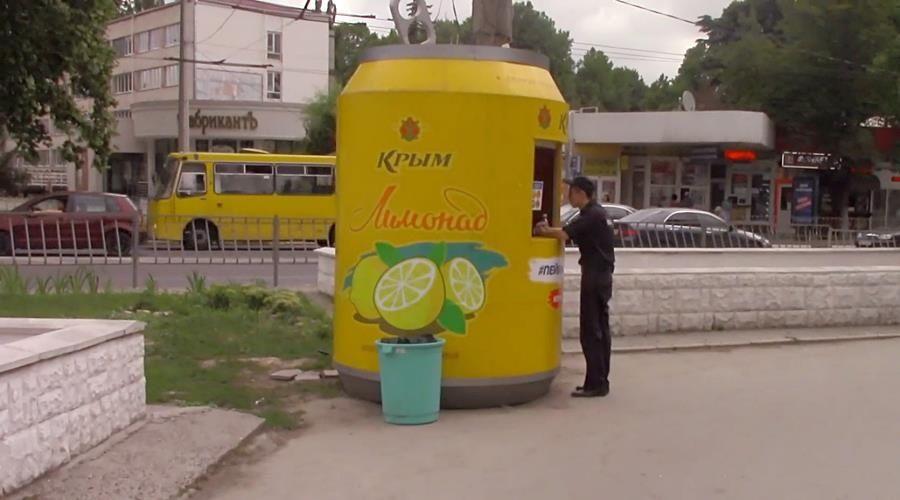 Полиция закрыла в Симферополе незаконные павильоны с разливным лимонадом