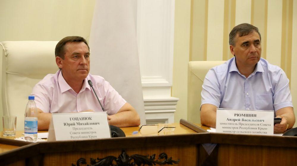 Аграрии Крыма уже собрали полмиллиона тысяч тонн зерна – Юрий Гоцанюк