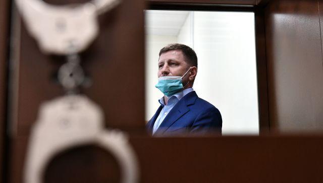 Губернатора Хабаровского края посадили в СИЗО на два месяца