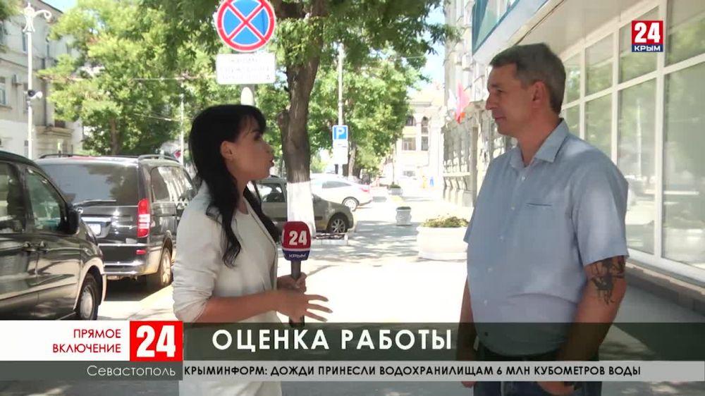 В Севастополе обсуждают работу временно исполняющего обязанности губернатора Михаила Развожаева