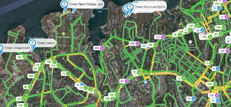 В Севастополе появилась интерактивная карта действующих пляжей