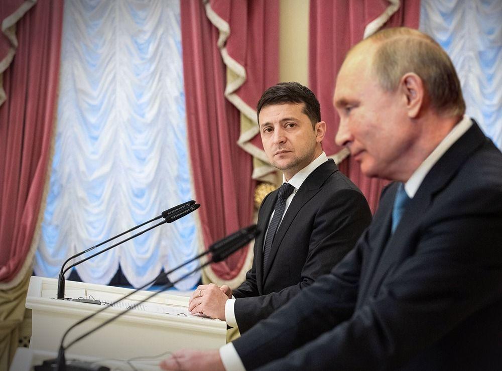 Путин: отношения с Украиной испортились не из-за Крыма