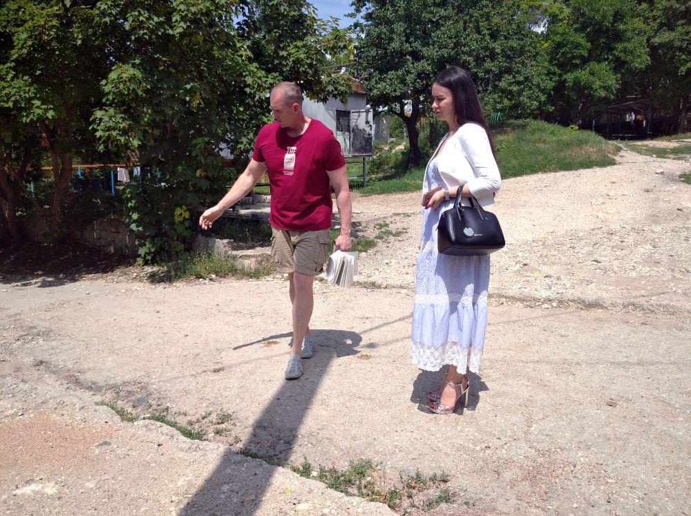 Надежда Аксёнова провела выездной прием граждан