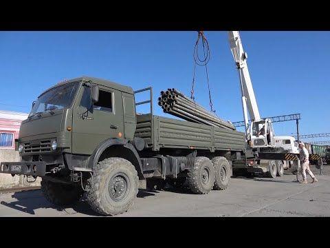 В Крым прибыл первый военный эшелон для строительства водопровода