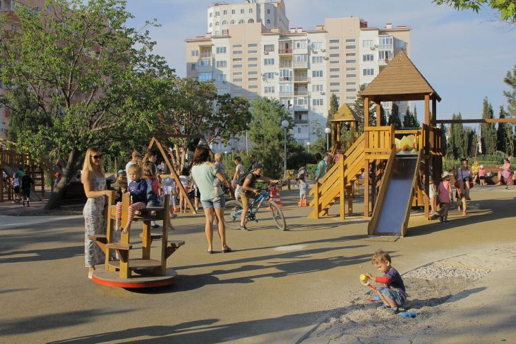 В Севастополе выбирают «Самый дружный двор»