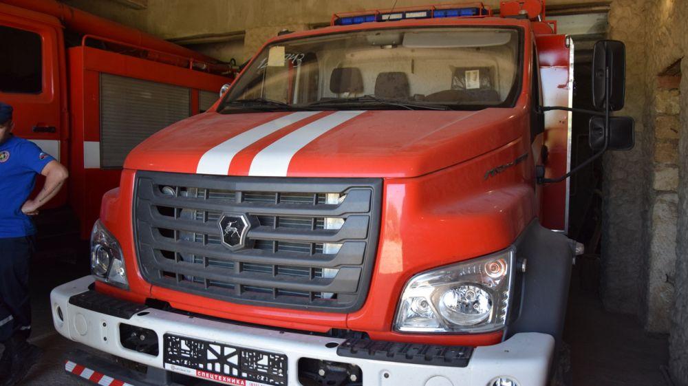 В пожарной части Пятихатского поселения пополнение пожарного оборудования