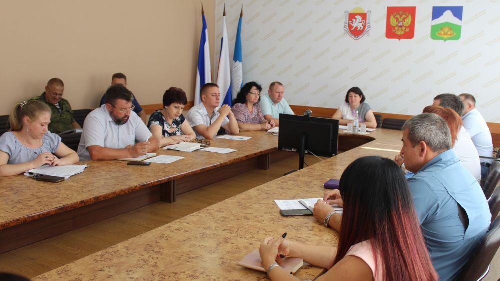 В администрации Белогорского района состоялось аппаратное совещание
