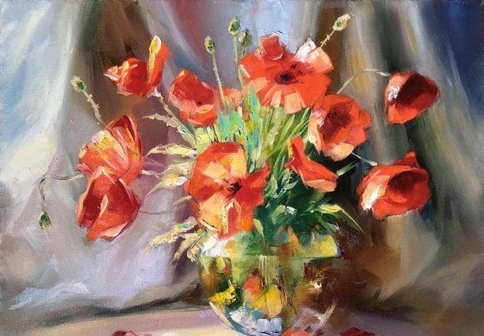 Натюрморт с цветами – живая красота с уникальной символикой и тайным смыслом