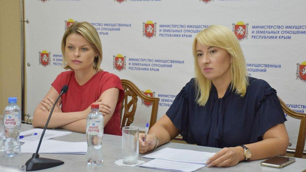 В Минимуществе Крыма состоялось заседание рабочей группы по использованию земельных участков сельскохозяйственного назначения