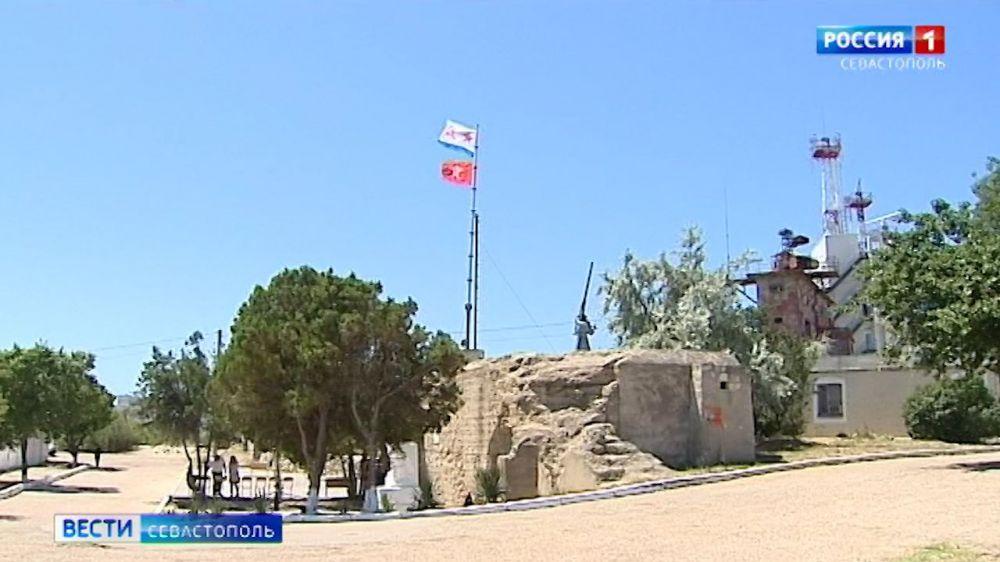 В Севастополе на береговой батарее №14 установят копию пушки Кане