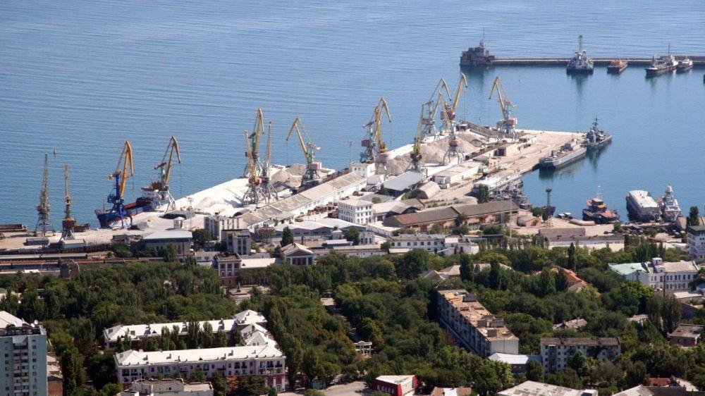 Министерство транспорта Республики Крым содействует развитию грузовых мощностей портовой инфраструктуры