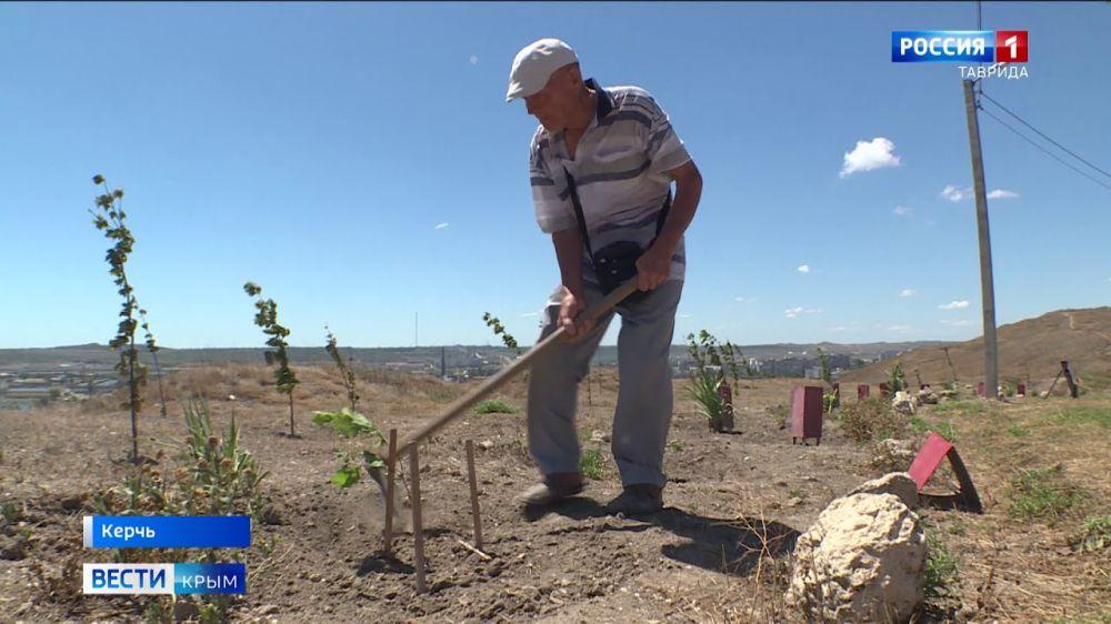 82-летний смотритель Вечного огня в Керчи год не получает зарплату