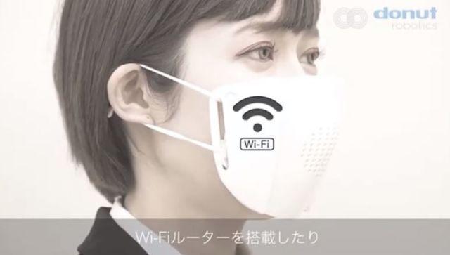 Превращает речь в текст: японцы создали маску-переводчик