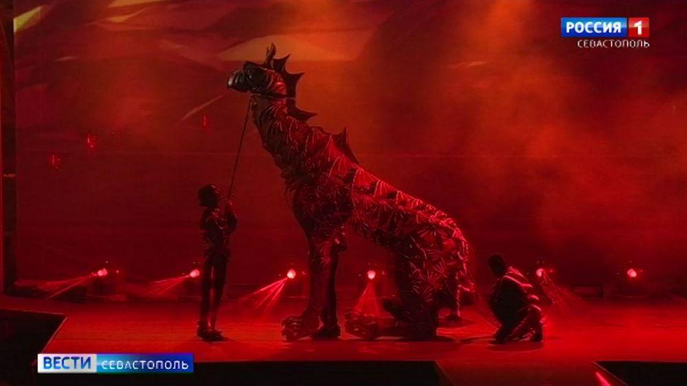 В Севастополе состоялась генеральная репетиция «Грифона»