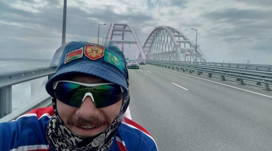Учитель физкультуры из Томской области проехал 5 тыс км на велосипеде до Крыма