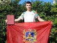 Крымский коллекционер получил флаг Брянской области от местного губернатора
