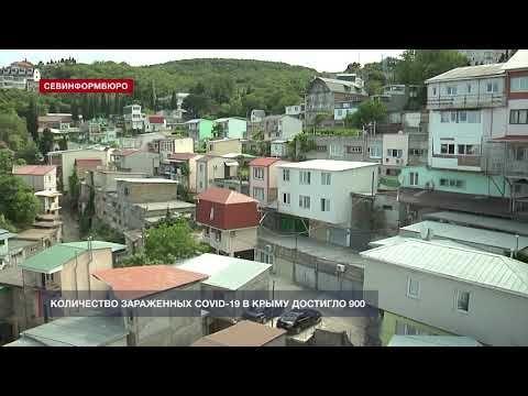 Количество зараженных COVID-19 в Крыму достигло 900