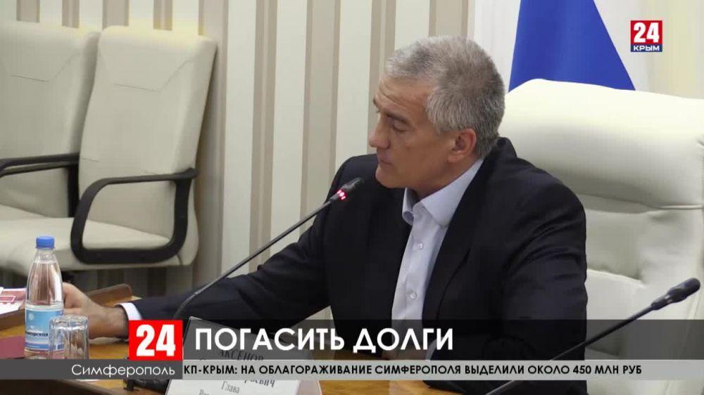 В Крыму 71 предприятие задолжало крупную сумму ресурсоснабжающим организациям