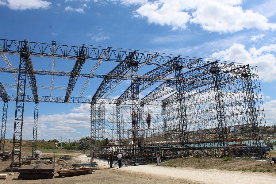Сцена для фестиваля «Опера в Херсонесе» не будет влиять на грунт