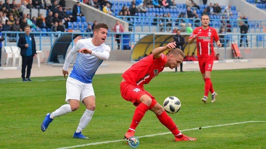 В Крыму состоялись полуфинальные матчи Кубка КФС