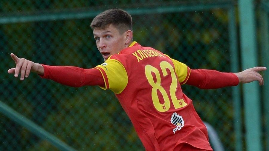 Симферополец Даниил Хлусевич забил свой первый мяч в российской футбольной премьер-лиге