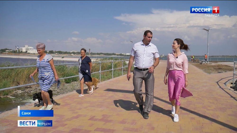 Возрождение легендарного курорта: город Саки обретает вторую жизнь