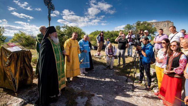 В Крыму почтили молдавских воинов, погибших в борьбе с турками