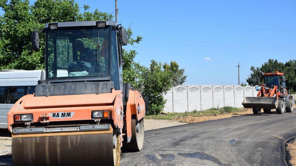 Глава Красногвардейского района контролирует выполнение ремонта дорог