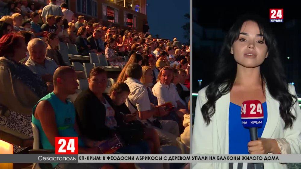В Севастополе состоялась премьера второго сезона нашумевшего спектакля «Грифон»