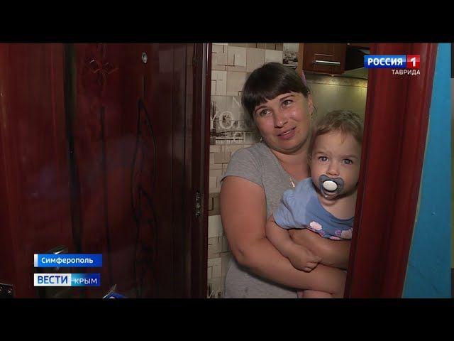 В Симферополе младенец разбил голову при падении из окна