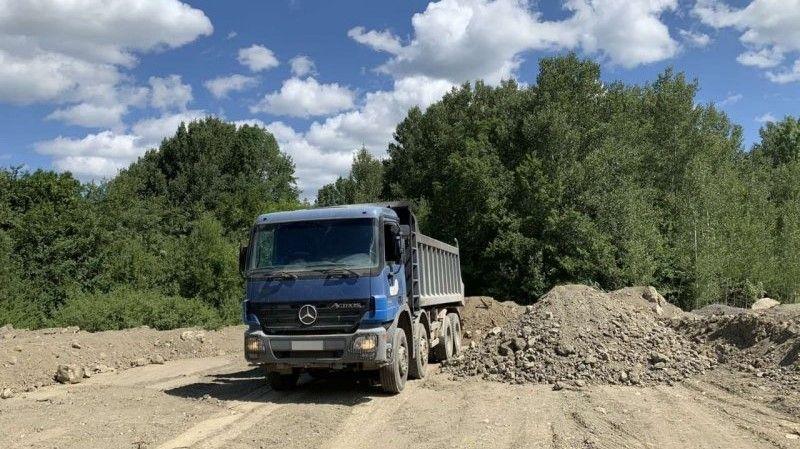 В Севастополе пресечен несанкционированный сброс отходов со стройки