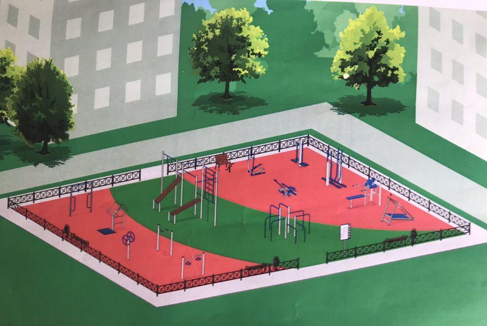 В Симферополе впервые появится спортплощадка для инвалидов