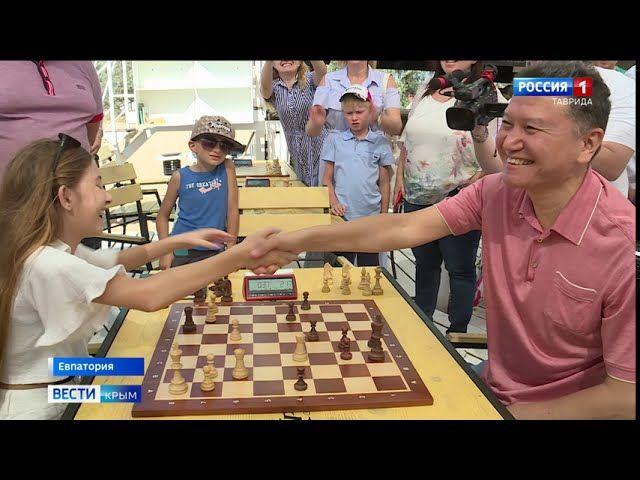 В Евпатории гроссмейстеры сразились в шахматном турнире