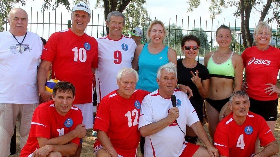 В Феодосии прошел волейбольный турнир-тренировка, посвященный Олимпиаде-1980