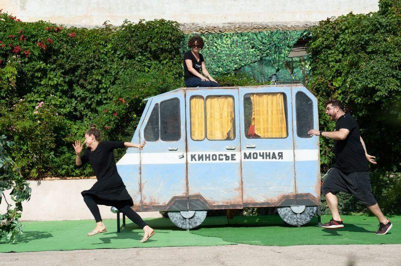 «Театральный дворик» — новое сценическое пространство, которое создаёт Крымский ТЮЗ
