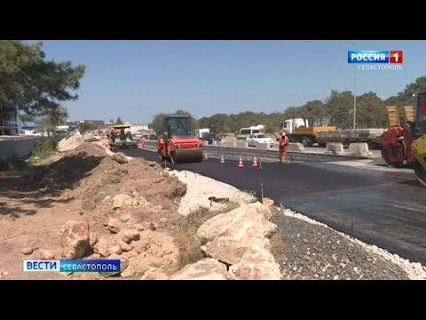 В Севастополе открыли четыре полосы движения по мосту в Карантинной балке