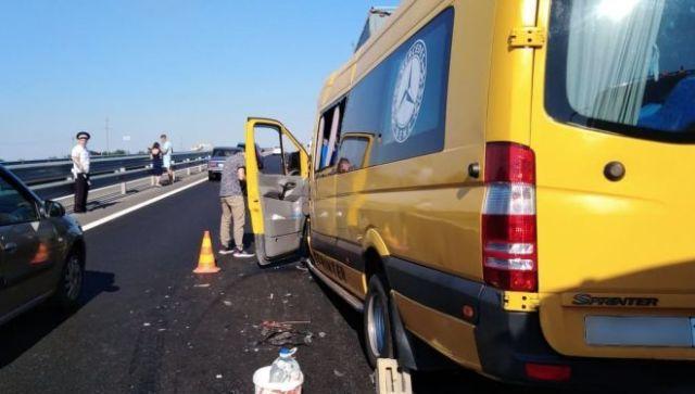 В Белогорском районе Крыма ввели режим ЧС из-за ДТП с автобусом