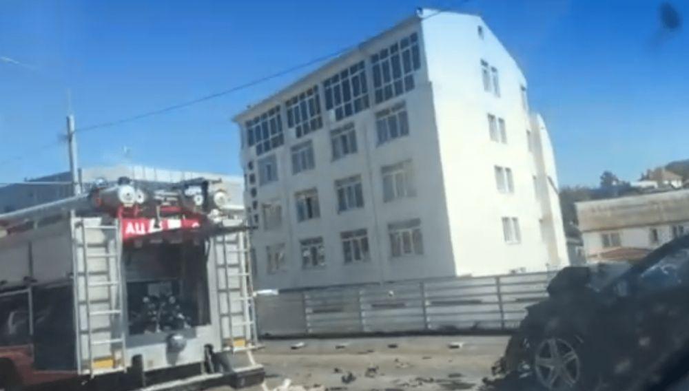 В Севастополе в аварии с пассажирским автобусом пострадали 14 человек