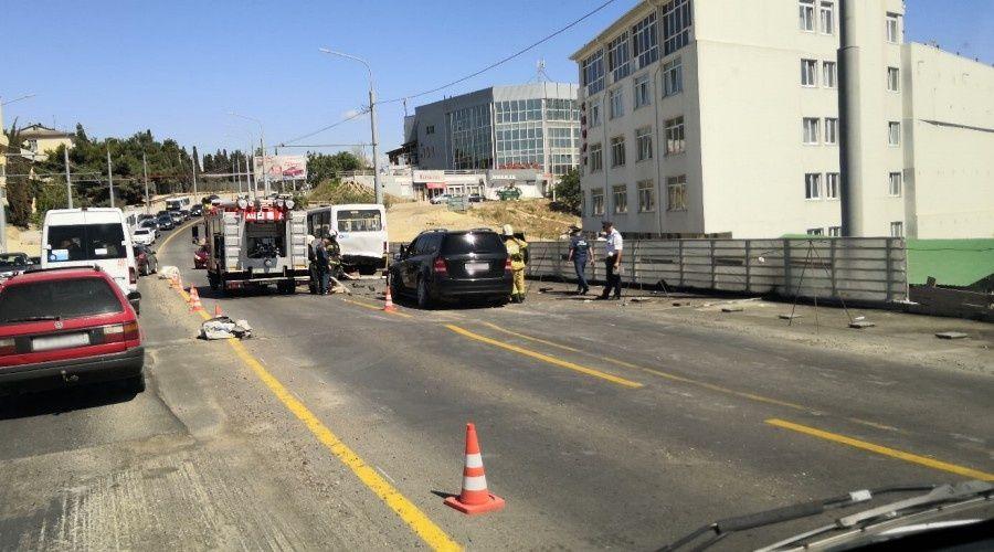 Четырнадцать человек пострадали в ДТП в Севастополе