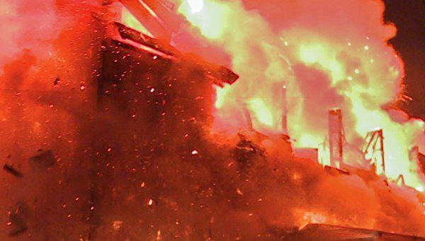 В Сети опубликовали жуткое видео взрыва на АЗС в Краснодарском крае