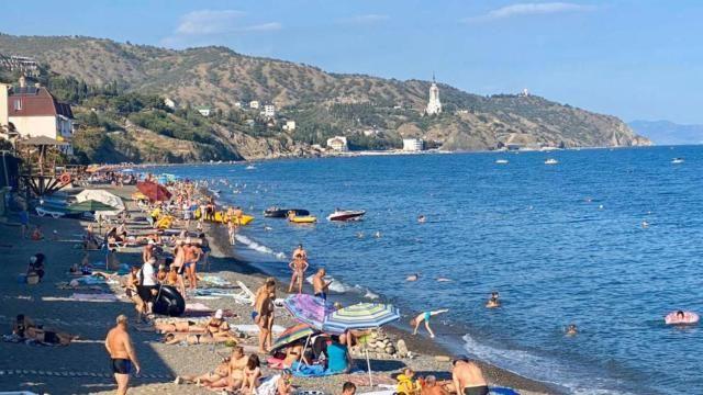 На пляжах Алушты исправили нарушения